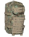 US Assault Pack S woodland arid