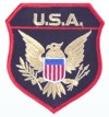USA Wappen Patch